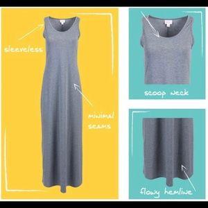 Dani Lularoe Dress Grey! Adorable, comfy 👍